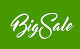 White text Big Sale