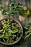 arbequina olives from Spain