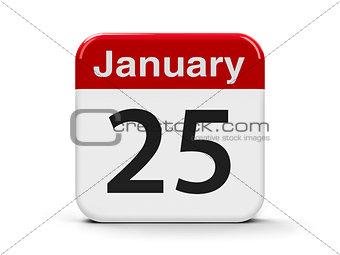 25th January