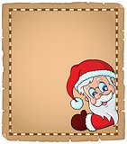 Lurking Santa Claus topic parchment 1