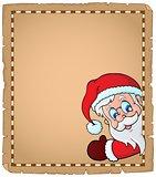 Lurking Santa Claus topic parchment 1