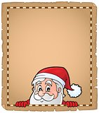Lurking Santa Claus topic parchment 2
