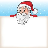 Lurking Santa Claus with copyspace 6
