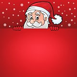 Lurking Santa Claus with copyspace 7