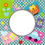 Patchwork for kids with childish elements