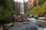 Tumalo Falls in Central Oregon