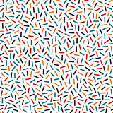 Bright colorful seamless pattern in memphis style. Mosaic tilealbe sticks. Fashion 80-90s