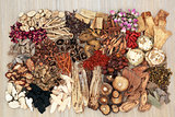 Traditional Chinese Herb Selection