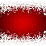 Decorative red Christmas background