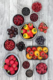 Health Eating with Anthocyanin Food
