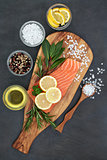 Salmon Fish for Healthy Eating