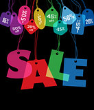 Big Sale and price tags
