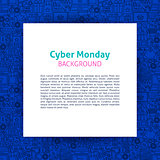 Cyber Monday Paper Template