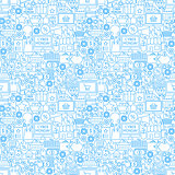 Cyber Monday Seamless Pattern