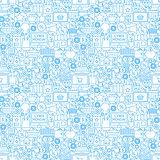 Cyber Monday Seamless Pattern
