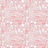 Black Friday Cyber Monday Seamless Pattern