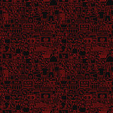 Black Friday Seamless Pattern