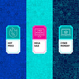 Line Cyber Monday Package Labels