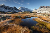 Vanoise National Park in France