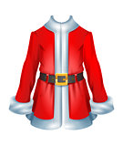 Fur coat santa accessory traditional Christmas clothes