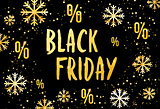 Vector banner for the Black Friday sale. Modern fashion web banner.