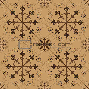 Abstract decorative background seamless pattern