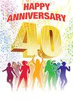 Fortieth anniversary