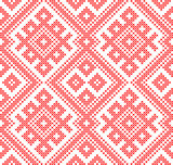 Seamless traditional Russian and slavic ornament