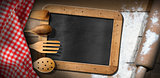 Blackboard - Flour - Rolling Pin - Kitchen Utensils