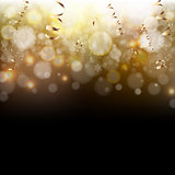 Golden And Black Background