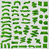 Green Web Ribbon Set
