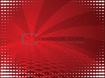 Bright Red Background