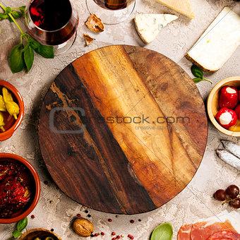 Wine and snack set