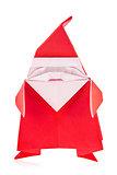Festal Santa Claus of origami