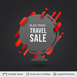Black Friday Travel Sale Offer.