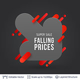 Black Friday Falling Prices badge.