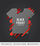 Black Friday Fashion Clothing Sale.