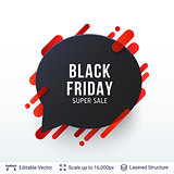 Black Friday Super Sale badge.
