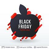 Black Friday Super Sale badge.