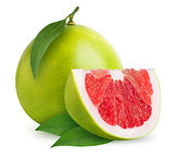 Pomelo citrus fruit isolated