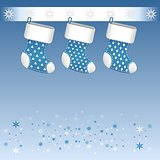 Blue Christmas boots