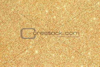 Abstract glitter golden background