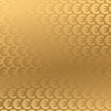 Golden Euro background