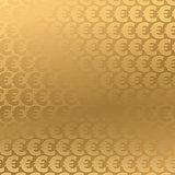 Golden Euro background