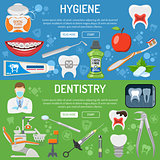 Dental Services banner and infographics