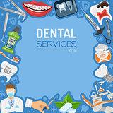 Dental Services banner and Frame