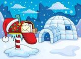 Christmas mailbox theme image 2