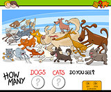 how many dogs and cats activity game