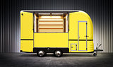 yelow food truck