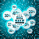 Sale colorful background.